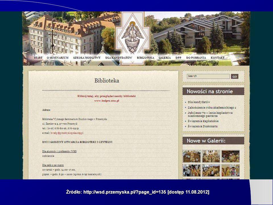 Źródło: http://wsd.przemyska.pl/ page_id=135 [dostęp 11.08.2012]
